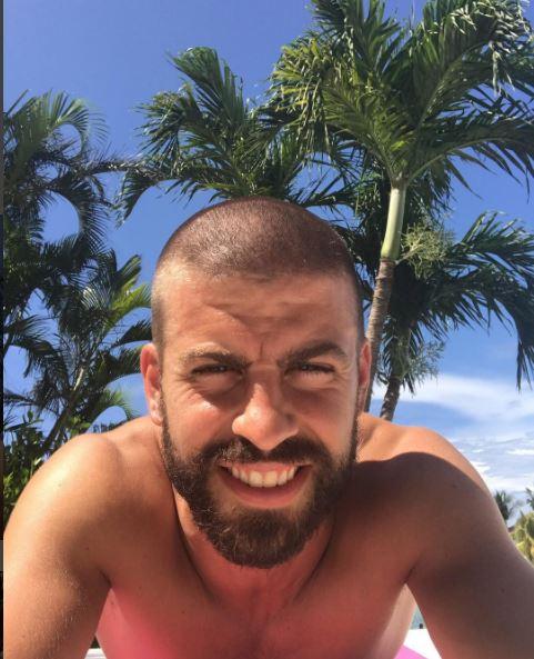 Photo of Gerard Pique cambia de look