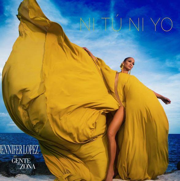 """Photo of JLO presento portada de su nuevo sencillo """"Ni tú ni yo"""" junto a """"Gente de Zona""""."""