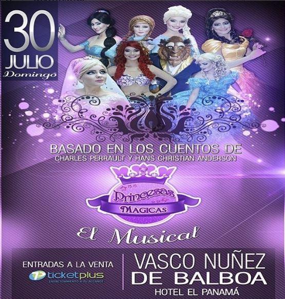 Photo of El musical 'Princesas mágicas' en Panamá