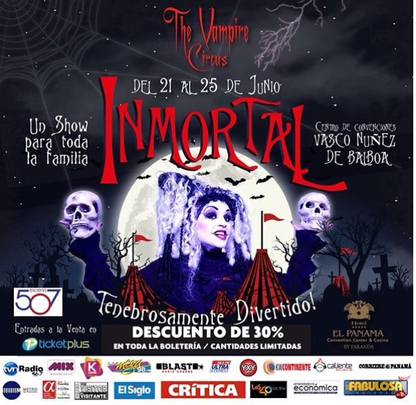 Photo of Hoy inicia 'The Vampire Circus´