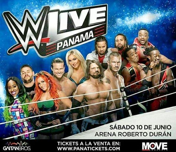Photo of Falta pocos días para el WWE LIVE en Panamá