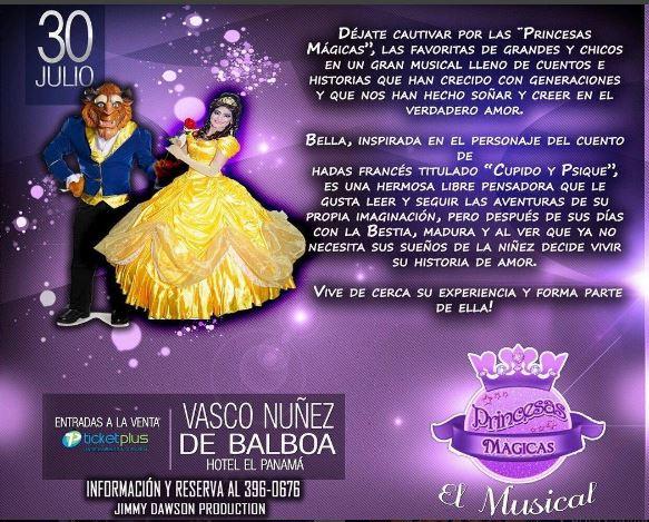 Photo of Este 30 de julio 'Princesas mágicas' en Panamá