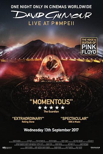 Photo of David Gilmour Live at Pompeii