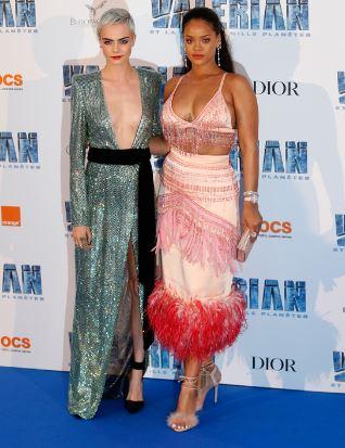 Photo of Cara Delevinge y Rihanna las divas de la moda