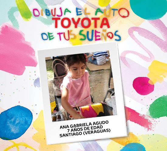 Photo of Ana Gabriela triunfa en concurso de dibujo