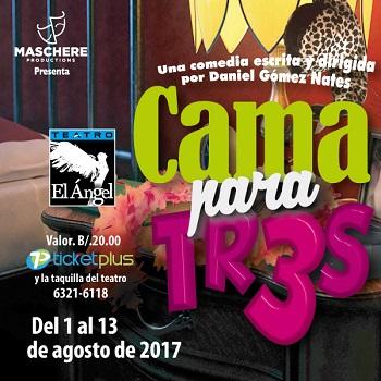 Photo of 'Cama para tr3s' en Teatro el Ángel