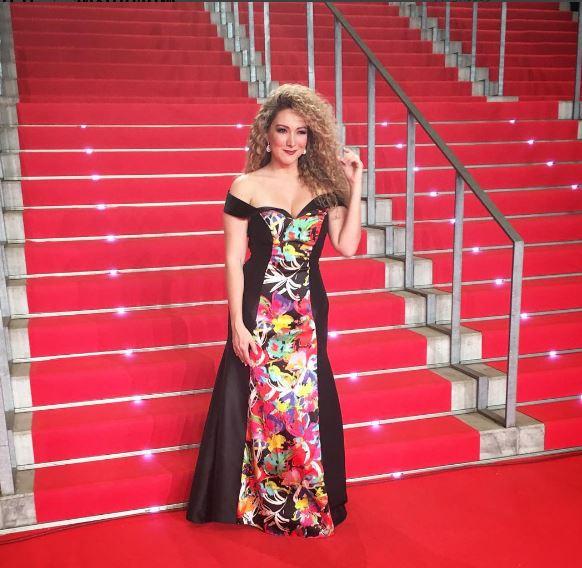 Photo of Erika Ender en Premios Platino 2017