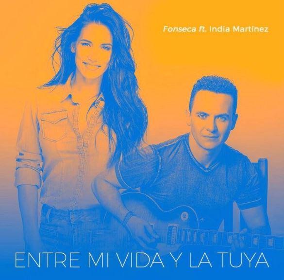 Photo of 'Entre mi vida y la tuya' de Fonseca ft. India Martínez