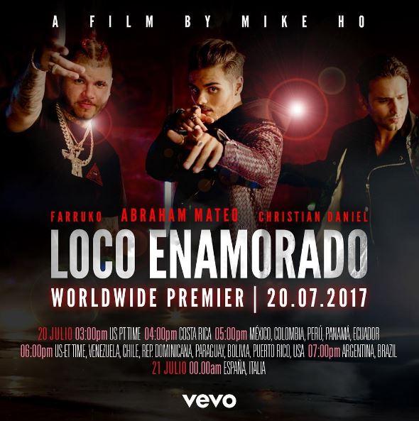 Photo of Solo faltán horas para el gran estreno del vídeo Loco Enamorado