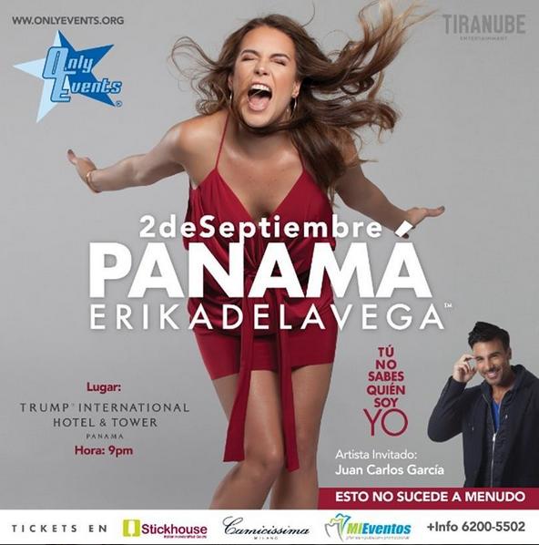 Photo of Erika de La Vega regresa a Panamá