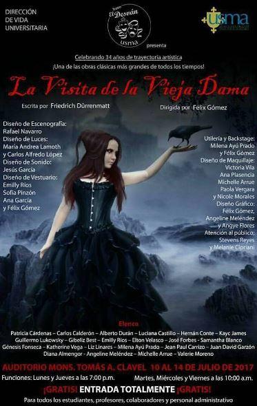 Photo of Obra 'La visita de la vieja dama'