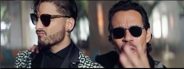 Photo of 'Felices los 4' de Maluma en versión salsa junto a Marc Anthony