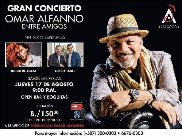 Photo of A solo dos días del gran concierto de Omar Alfanno