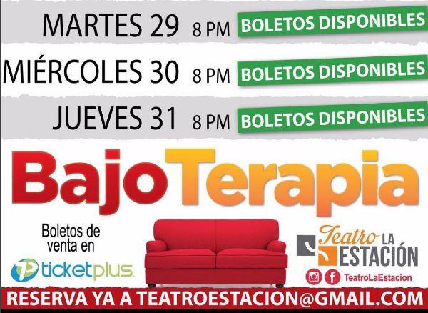 Photo of Última semana de la obra 'Bajo Terapia'