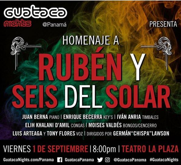 Photo of Esta noche homenaje a Rubén Blades y Seis del Solar