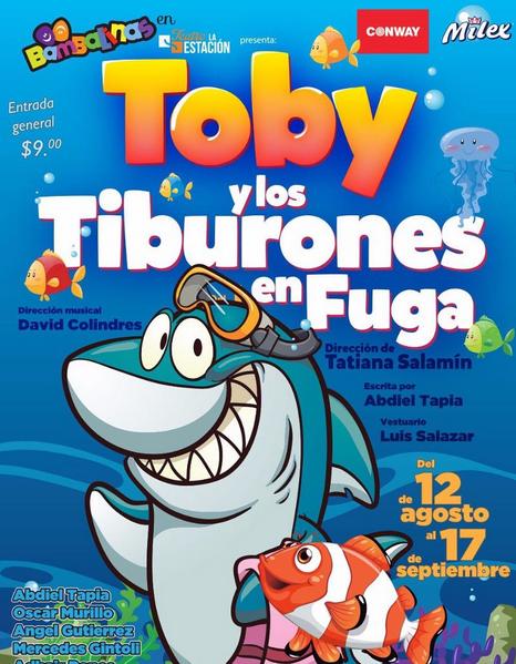 Photo of Toby y los tiburones en fuga