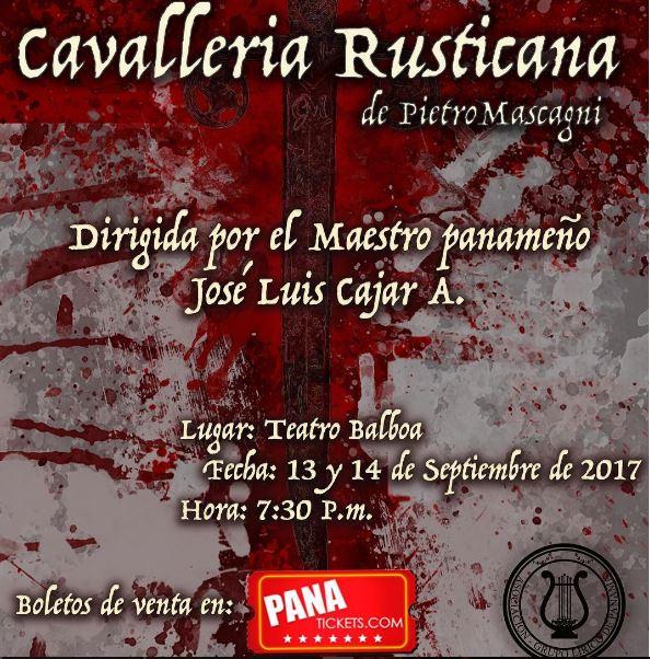 Photo of Llegá a Panamá la opera 'Cavalleria Rusticana'
