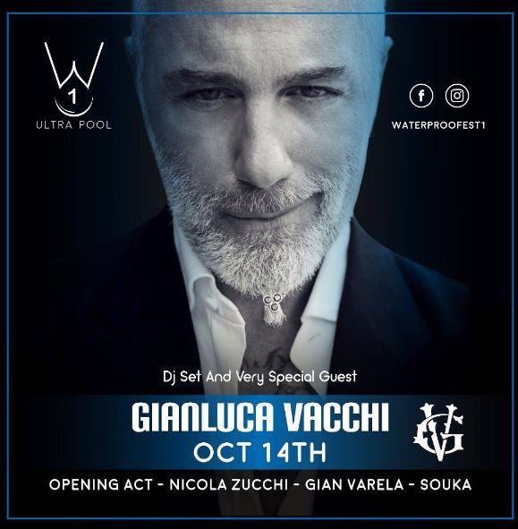 Photo of Gianluca Vacci estará en el Waterproofest