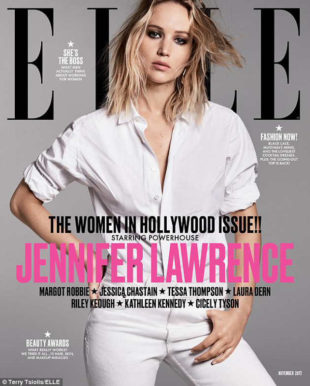Photo of Jennifer Lawrence fue elogiada por la revista 'Elle'