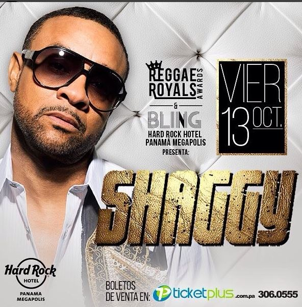 Photo of Shaggy en concierto