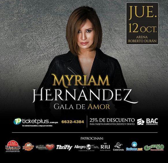Photo of Myriam Hernández en concierto