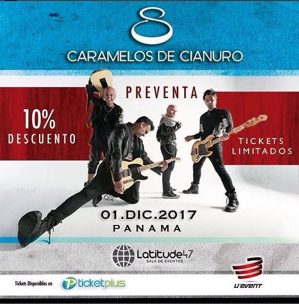 Photo of Caramelos de Cianuro brindará concierto en Panamá