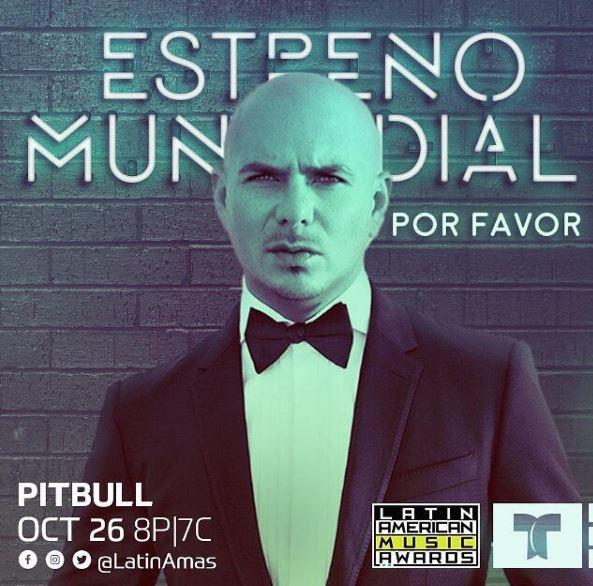Photo of Pitbull estrena por primera vez en la televisión la canción «Por Favor»