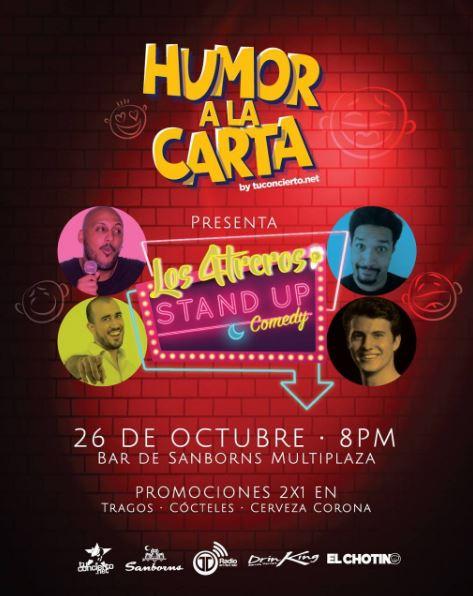 Photo of Humor a la Carta by @tuconcierto