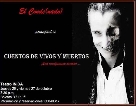 Photo of Este 26 y 27 de octubre 'Cuentos de Vivos y Muertos'