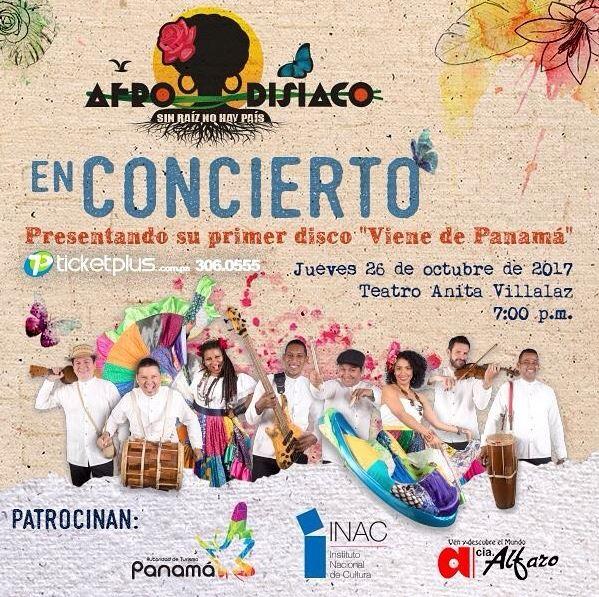 Photo of Afrodisiaco en concierto