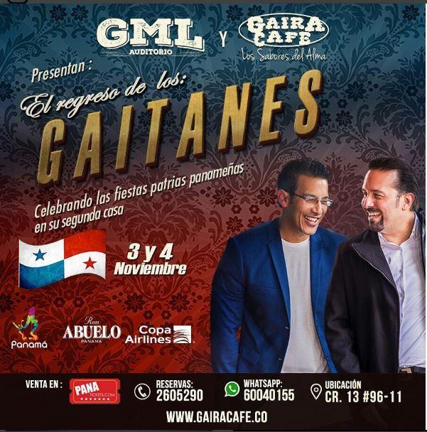 Photo of Los Gaitanes se van para Colombia