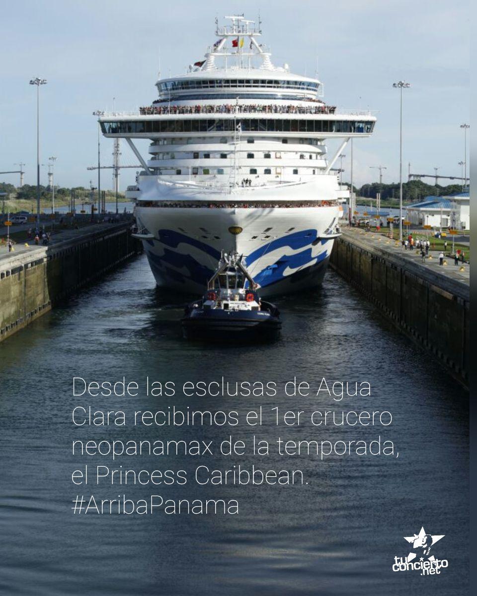 Photo of Llega el 1er. crucero Neopanamax