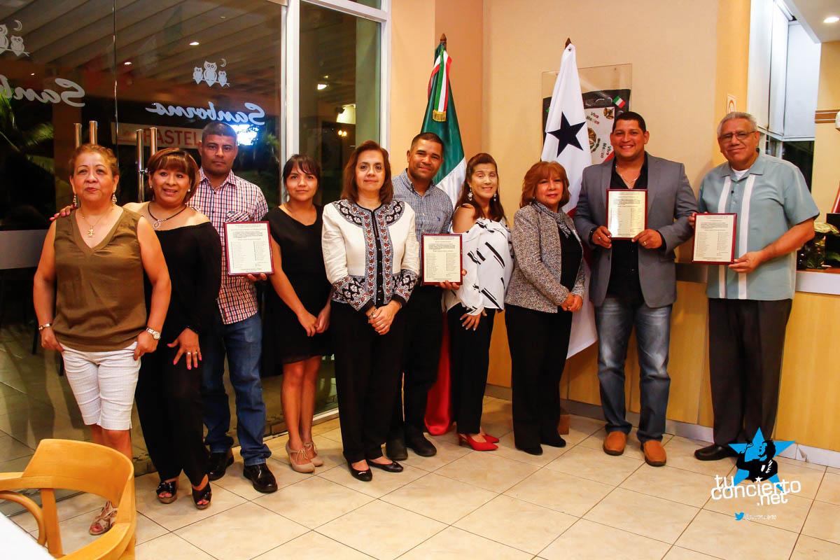 Photo of Cena de agradecimiento a Sinaproc por Comunidad Mexicana en Panamá
