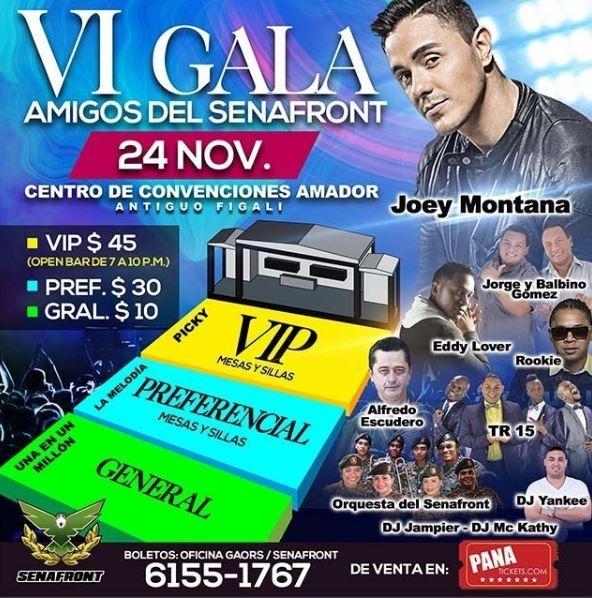 Photo of VI Gala «Amigos del Senafront»