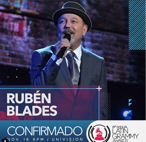 Photo of Rubén Blades confirmado para 'Los Latín Grammy'