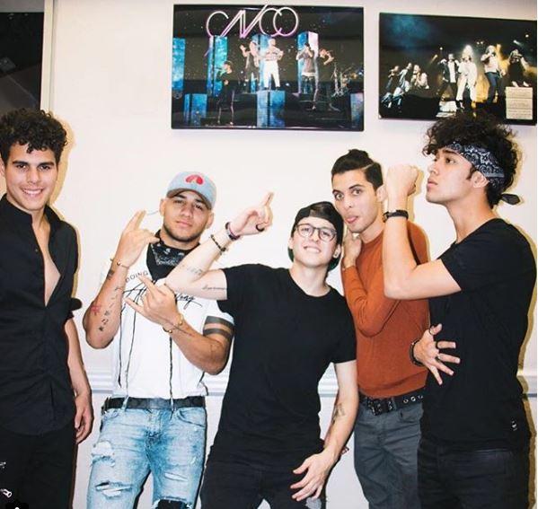 Photo of CNCO se prepará para su primera participación en los Latin Grammys