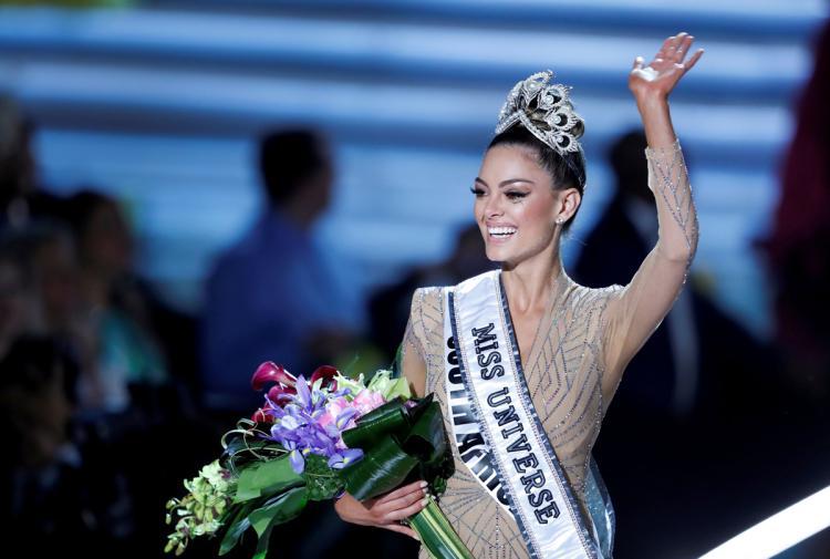 Photo of Miss Sudáfrica se crono como la nueva Miss Universo 2017