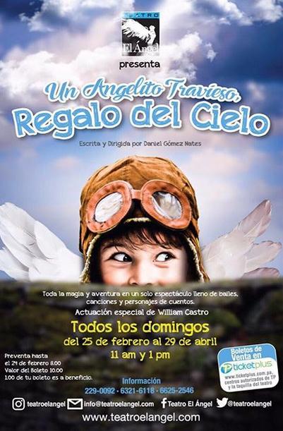 Photo of Audiciones para la obra 'Un Angelito Travieso, Regalo del Cielo'