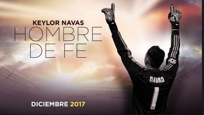 """Photo of Keylor Navas estreno la película """"Hombre de Fe"""""""