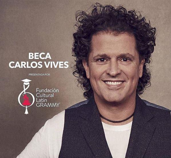 Photo of Carlos Vives y Grammy Latino convocan una beca