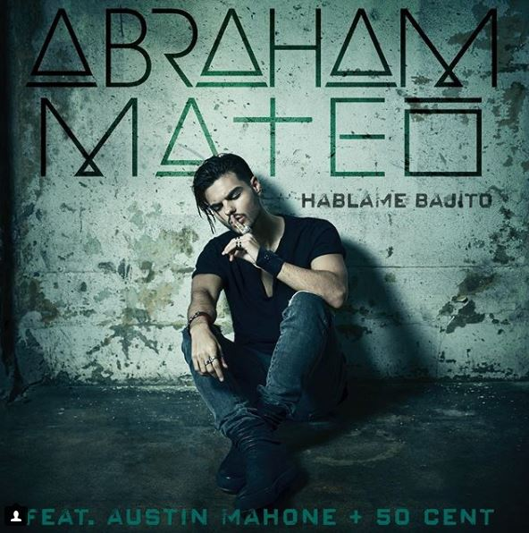 Photo of Abraham Mateo presenta 'Háblame Bajito' junto a  50 Cent y Austin Mahone