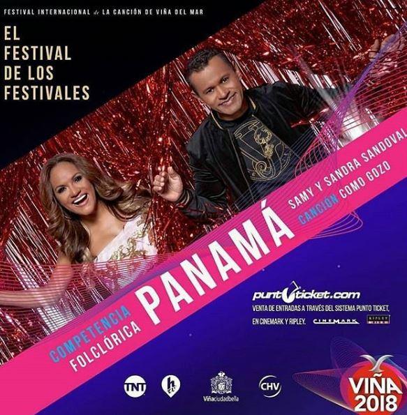 Photo of Samy y Sandra Sandoval estarán en Viña del Mar 2018