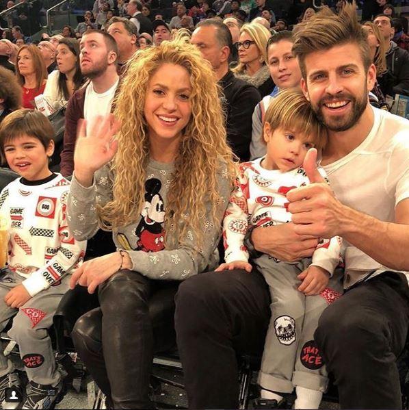 Photo of Shakira y Piqué juntos en Nueva York