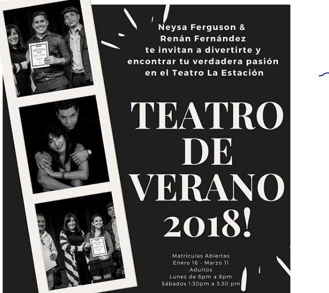 Photo of Taller Intensivo de Teatro de Verano