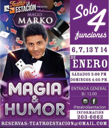 Photo of Regresa el Mago Marko con «Magia y Humor»
