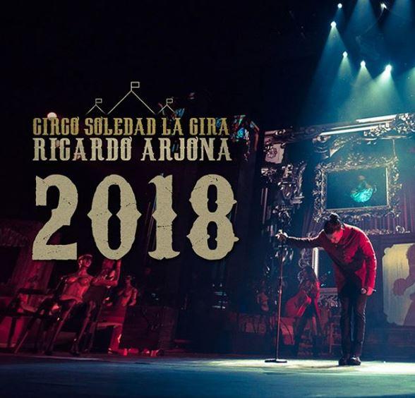 Photo of Gira 2018 de Ricardo Arjona