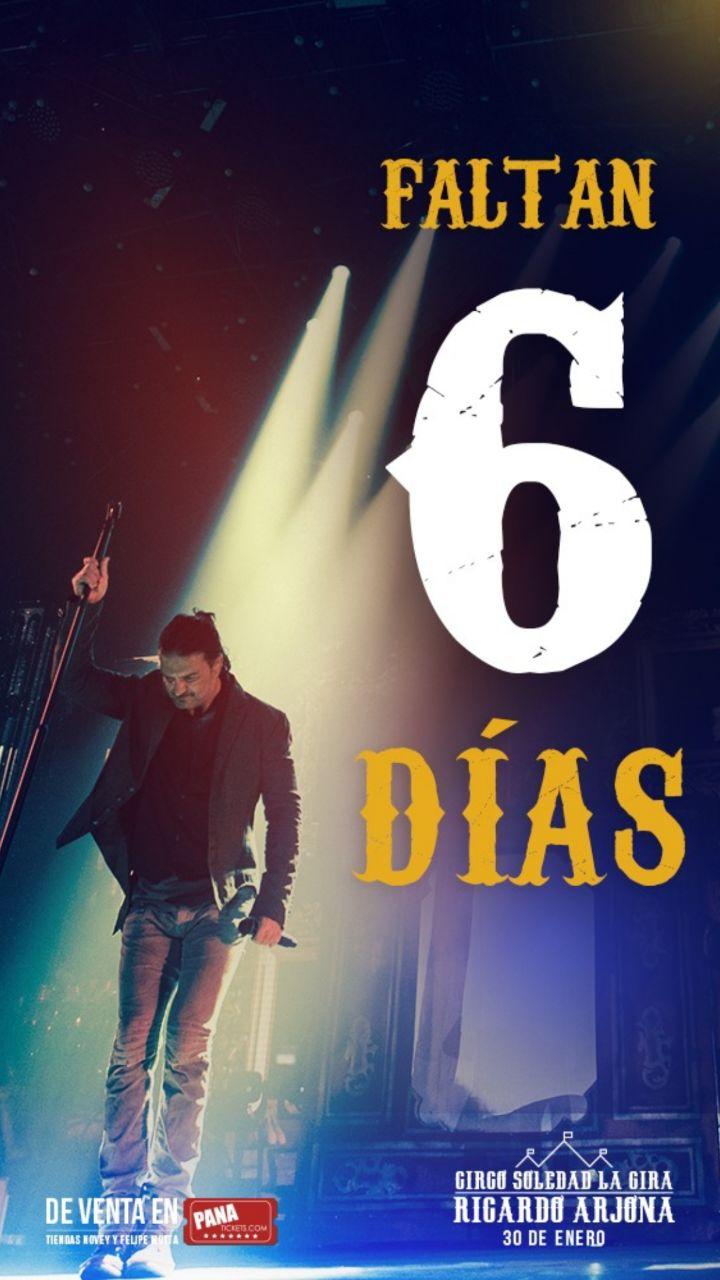 Photo of En la cuenta regresiva para el concierto de Ricardo Arjona