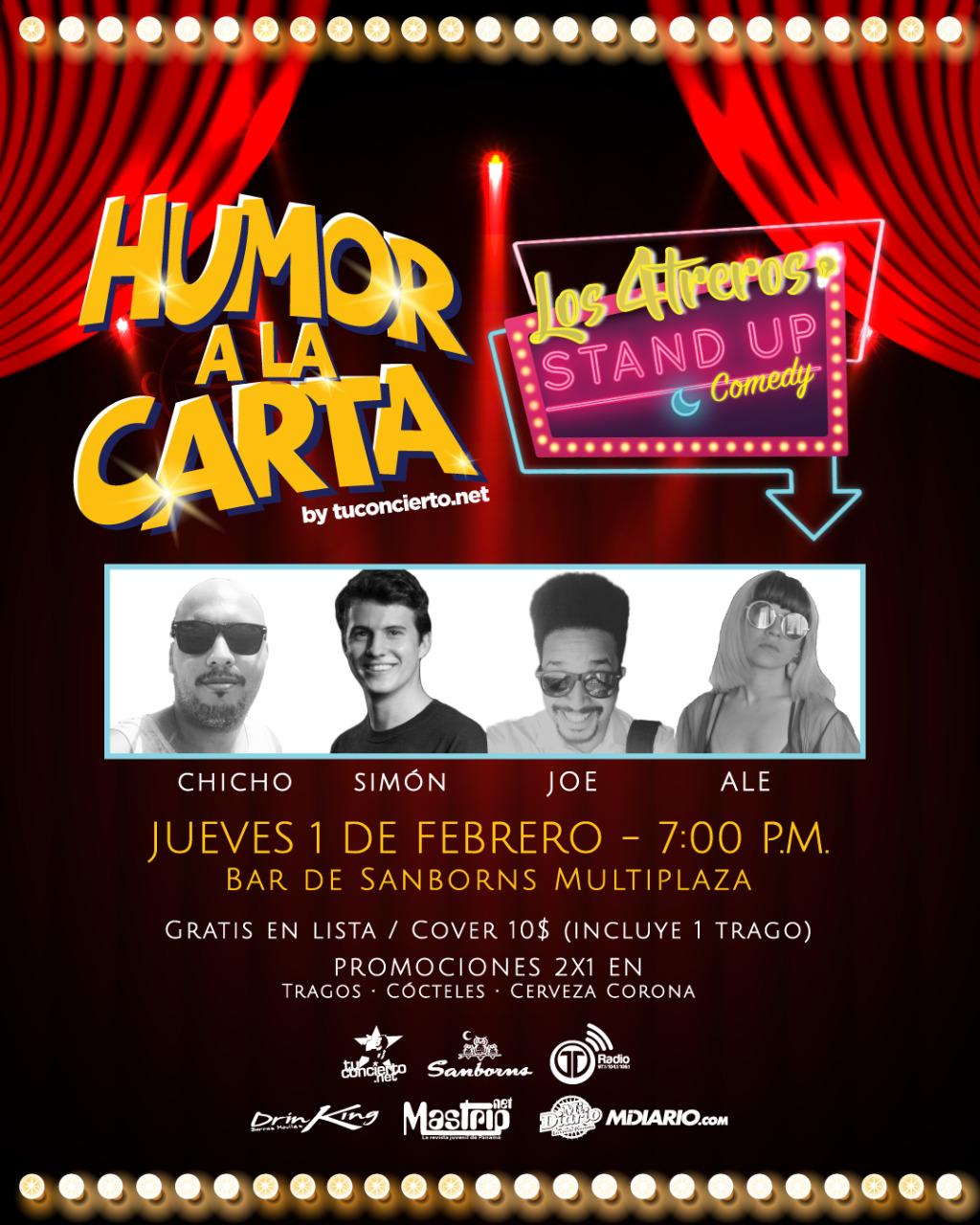 Photo of Esta noche 'Humor a la Carta by @tuconcierto'