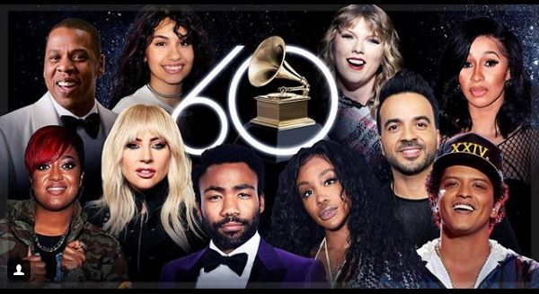 Photo of 60th Annual Grammy Awards