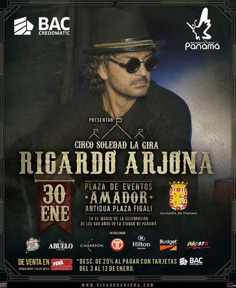 Photo of Faltan pocos días para el concierto de Ricardo Arjona